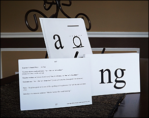 Letter Sound and Spelling Phonogram Cards